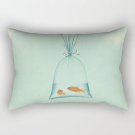 Flight to Freedom Rectangular Pillow