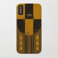 hufflepuff iPhone & iPod Cases featuring hufflepuff crest by nisimalotse