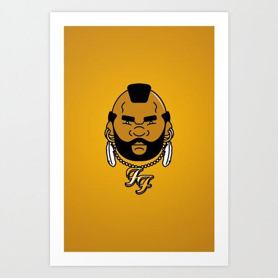 foo' fighter. Art Print