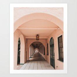 Archways for Days Art Print