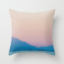 Gulf Coast Vibe Throw Pillow