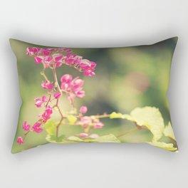 Flowered Rhapsody in Pink Rectangular Pillow