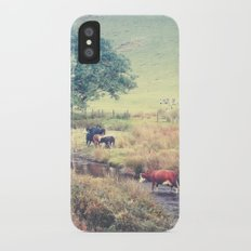THE COWS COME HOME (everyday 06.01.2017) iPhone X Slim Case