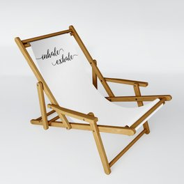 Inhale Exhale Sling Chair