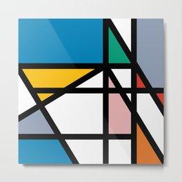 Mondriana (inspired by art) Metal Print