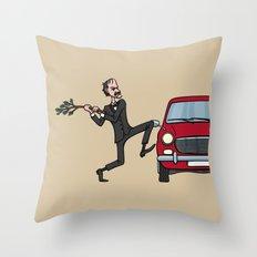 Basil's Fury Throw Pillow