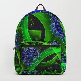 Green Gears Fractal Backpack