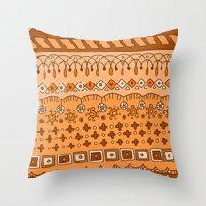 Yzor pattern 008 warm Throw Pillow
