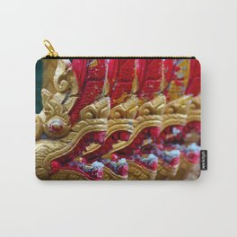 Temple Dragons Vientiane Laos Carry-All Pouch