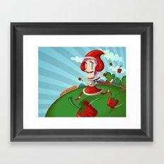 PepperLand Framed Art Print
