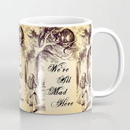 Cheshire Cat - We're All Mad Here Coffee Mug