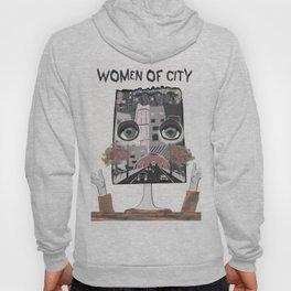 Women of city White Hoody