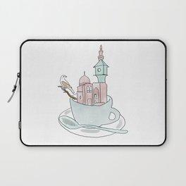 Cairo, Coffee, Birdhouse Laptop Sleeve