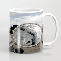 truck Mugs featuring Truck by Susy Margarita Gomez