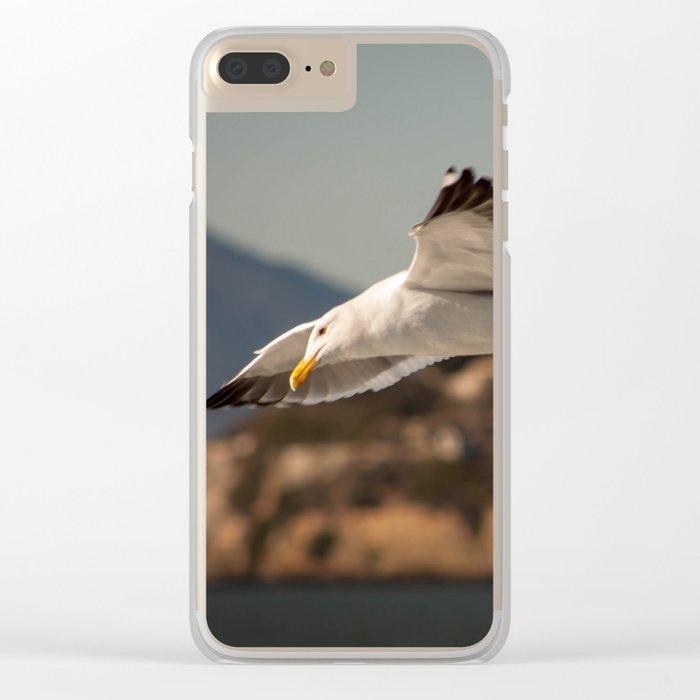 Alcatraz Freedom Clear iPhone Case