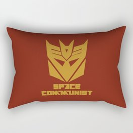 Space Communist Rectangular Pillow
