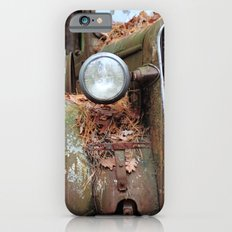 Vintage headlight iPhone 6s Slim Case