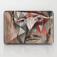 men iPad Cases featuring Men by Mary Szulc