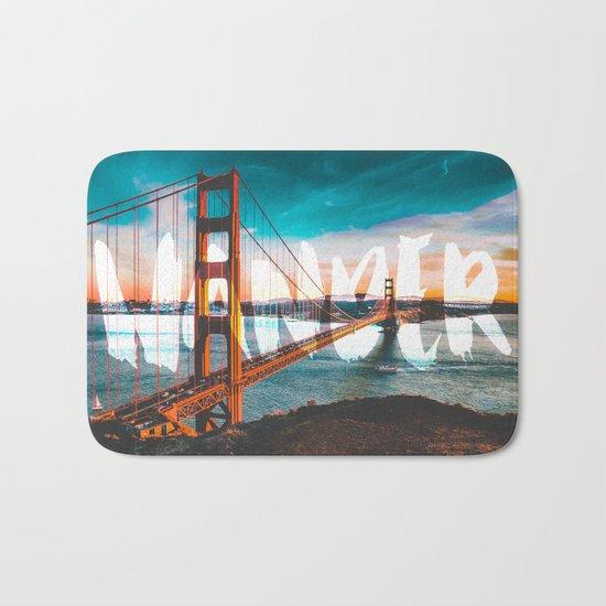 Wander Golden Gate Bridge Bath Mat