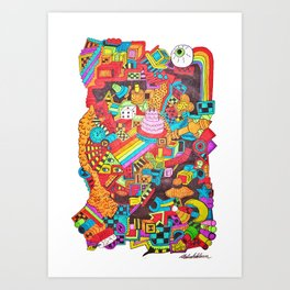 Can't Even Art Print