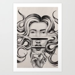 Severed Thoughts Art Print