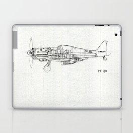 FW - 190 ( B & W) Laptop & iPad Skin