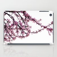sakura iPad Cases featuring sakura by MILDA HE