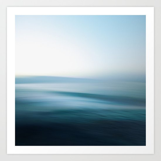 Perfect Day at Sea Art Print