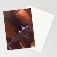 Purple Zone (3D Digital Fractal Art) Stationery Cards