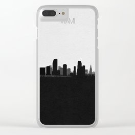 City Skylines: Miami Clear iPhone Case