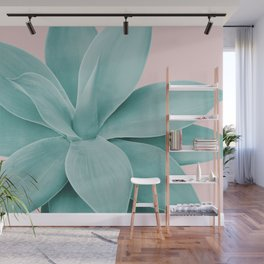 Blush Agave Romance #1 #tropical #decor #art #society6 Wall Mural