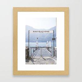 Navigazione Framed Art Print