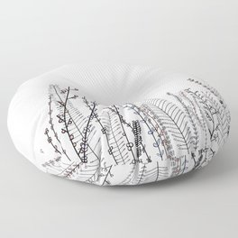The Plant Series: No. 2 Floor Pillow