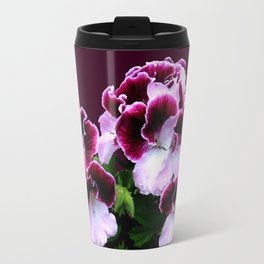 Pink, Purple, Flower Power Travel Mug