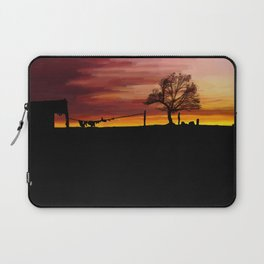 William Munny and his Wife Laptop Sleeve