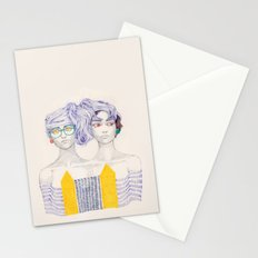 Hair Play 02 Stationery Cards