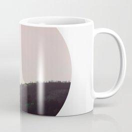 Circular Landscape Moody Hill Coffee Mug