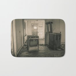 Relics from the Past, Sepia Bath Mat