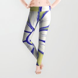 """Warm Food Means Someone Loves You"" Flowerkid Leggings"