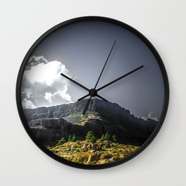 Desert in the Pacific NW Wall Clock
