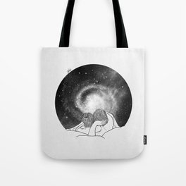 Our imaginary night. Tote Bag