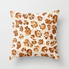 JAG SNAG Jaguar Animal Skin Throw Pillow