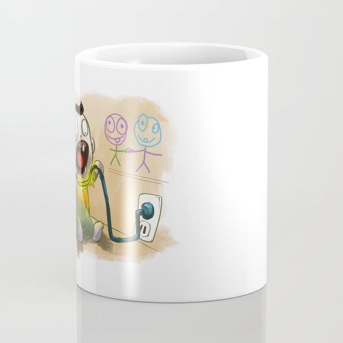 Babies like to bite stuff Coffee Mug