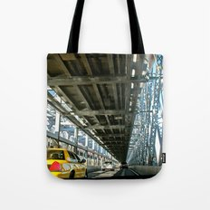 Washington Bridge, NYC Tote Bag