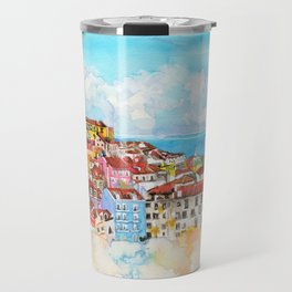 Lisbon, Portugal Travel Mug