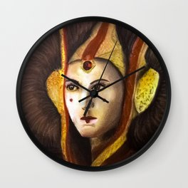 Queen amidala Wall Clock