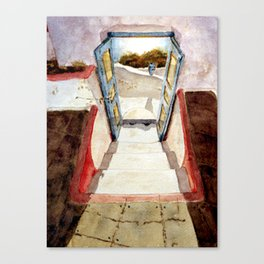 Greek memories No. 1 Canvas Print