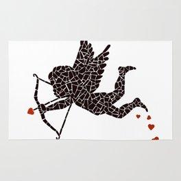 """""""Cupid-vector"""" Unique mosaic  Rug"""
