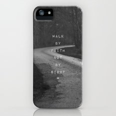 Faith not Sight Slim Case iPhone (5, 5s)