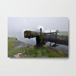 Ulverston Canal Metal Print